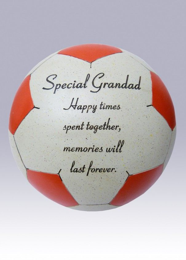 Football Red and White Memorial - Grandad