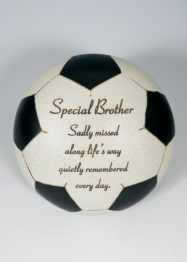 Football Black and White Memorial - Brother