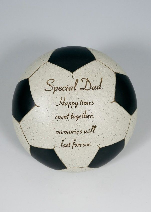 Football Black and White Memorial - Dad