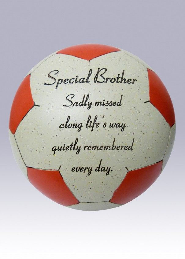 Football Red and White Memorial - Brother