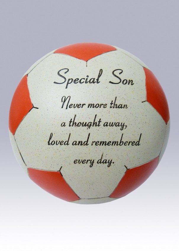 Football Red and White Memorial - Son