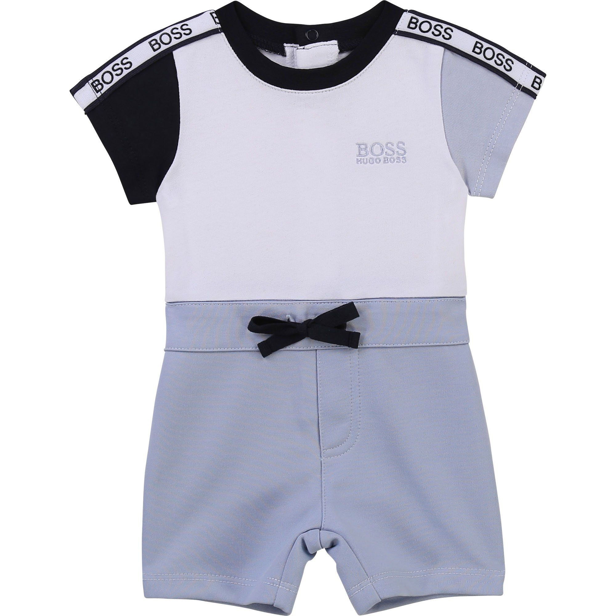 Boss Romper Outfit 6-9 months