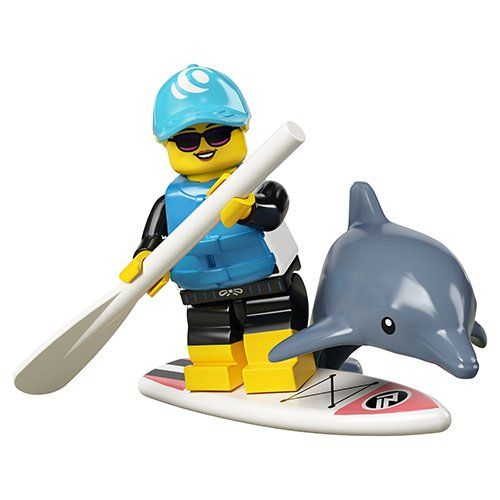 Dolphin Trainer - LEGO Minifigures Series 21 71029
