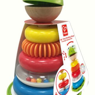 Mr Frog Stacking Rings by Hape