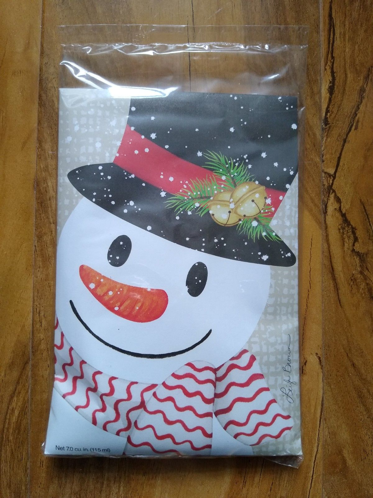 Crafty Snowman, Large scented sachet