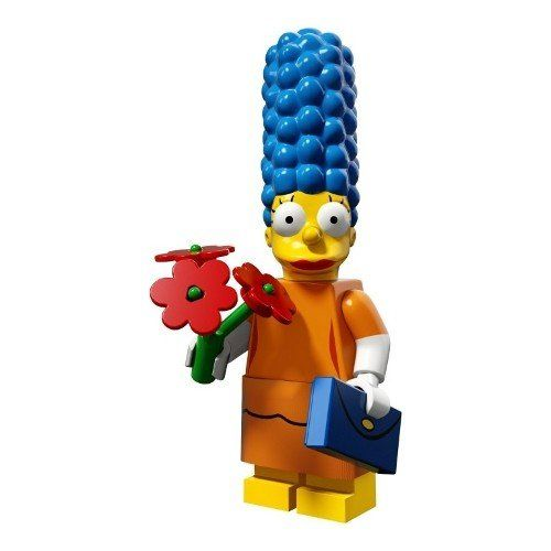 LEGO The Simpsons Series 2 Marge in a fancy dress Minifigure 71009