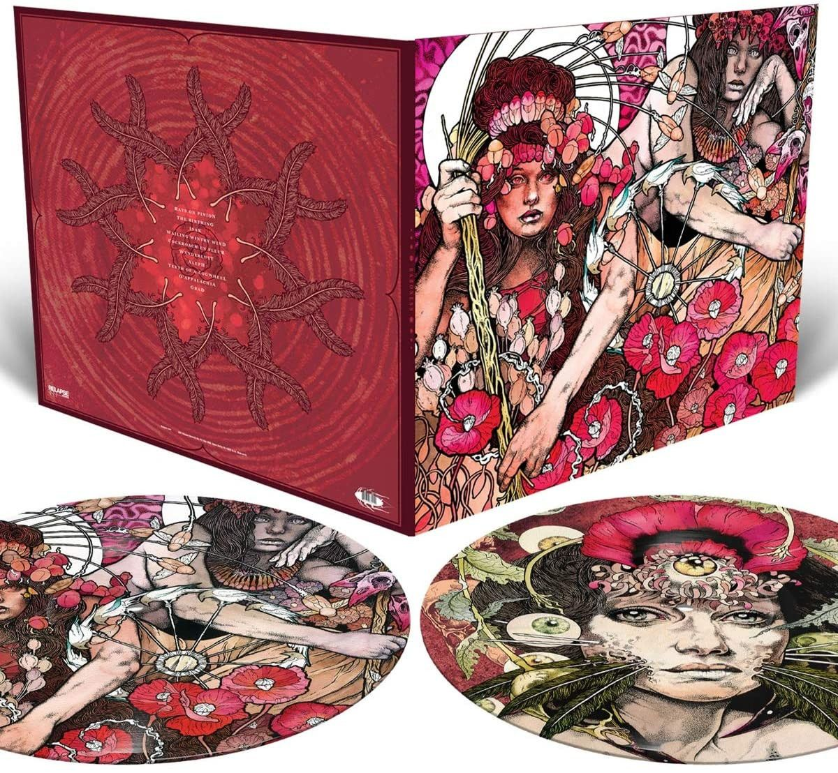 Baroness - Red Album Picture Disc LP Released 23/10/20