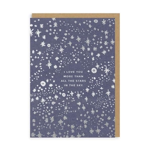 I Love You More Than the Stars - Greeting Card Ohh Deer