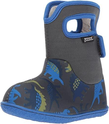 Baby Bogs Boots - Dino Blue 8