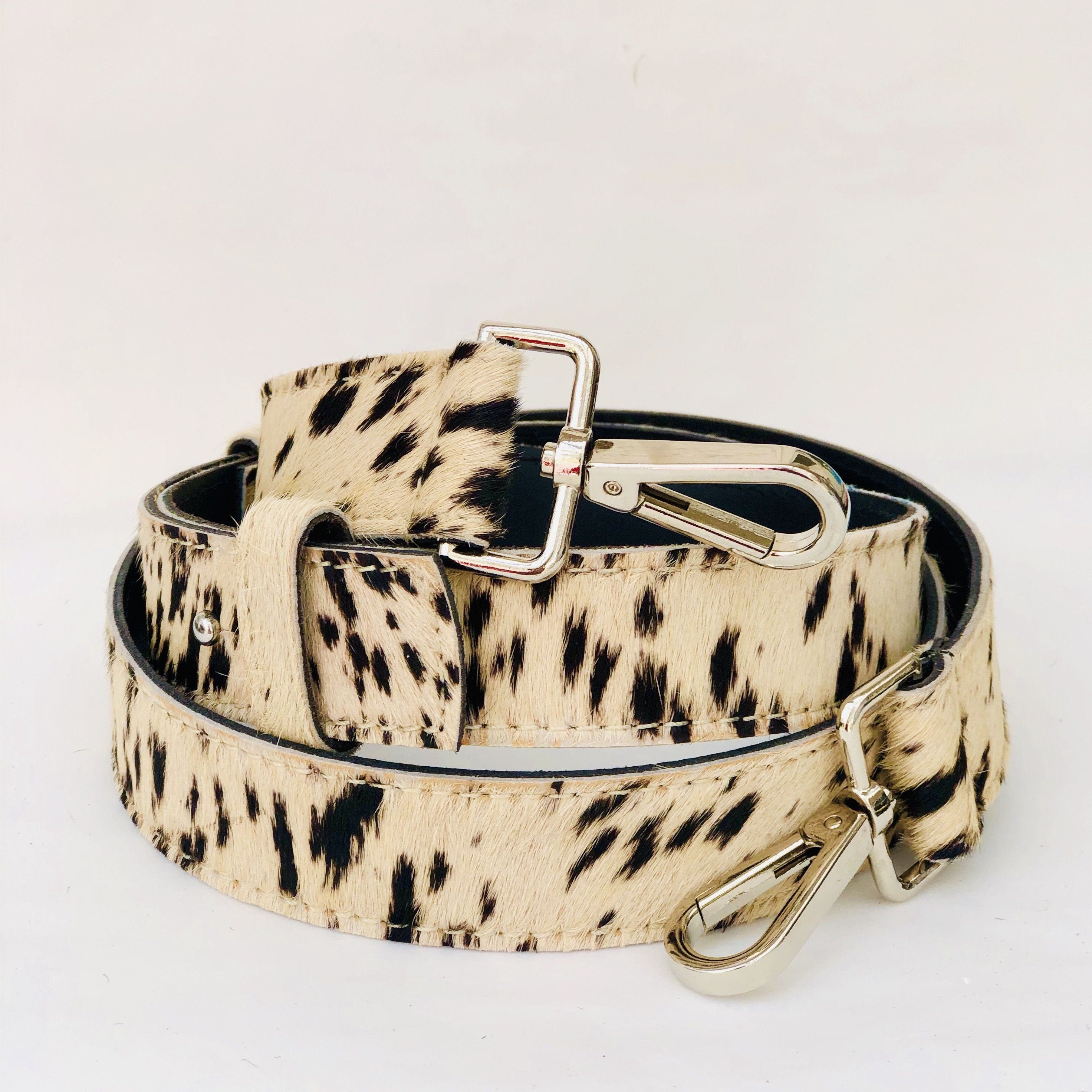 Spotty Hair On Hide Leather Crossbody Bag Replacement Strap