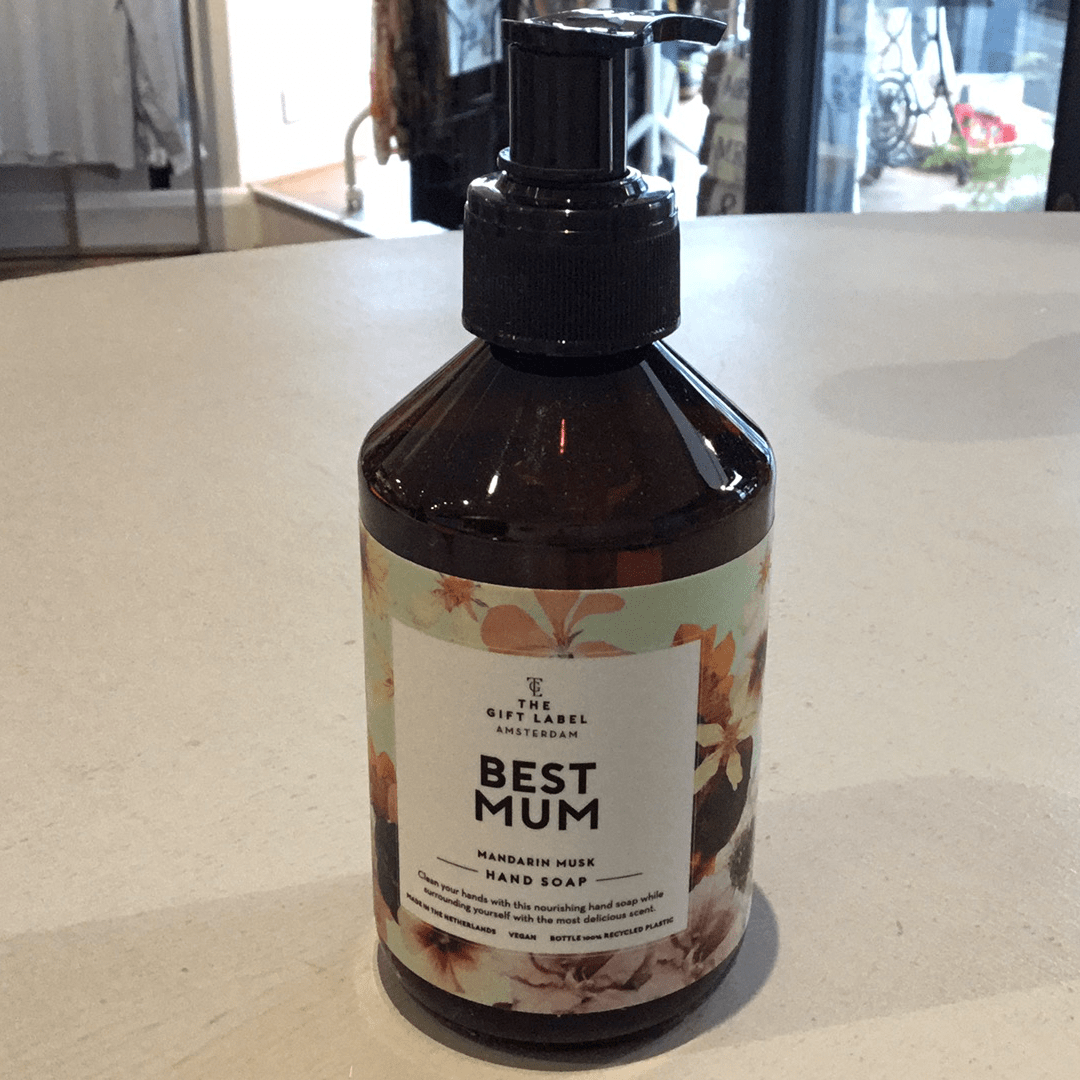 The Gift Label Best Mum Hand Soap - needs updating!