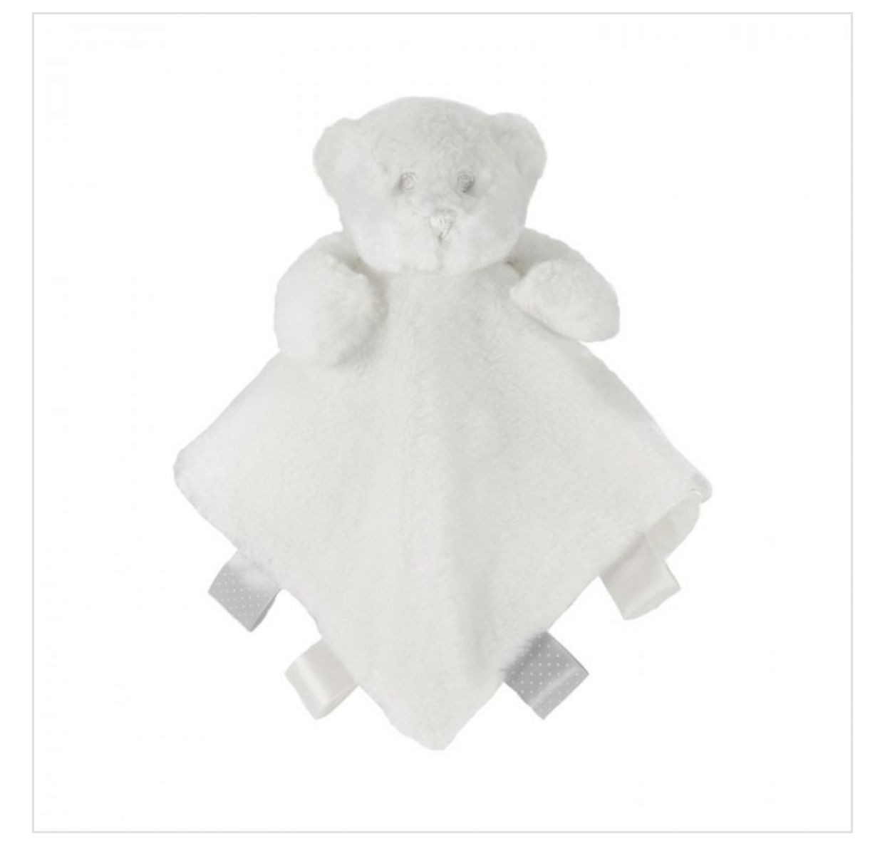 Baby Bear Comforter with Ribbons