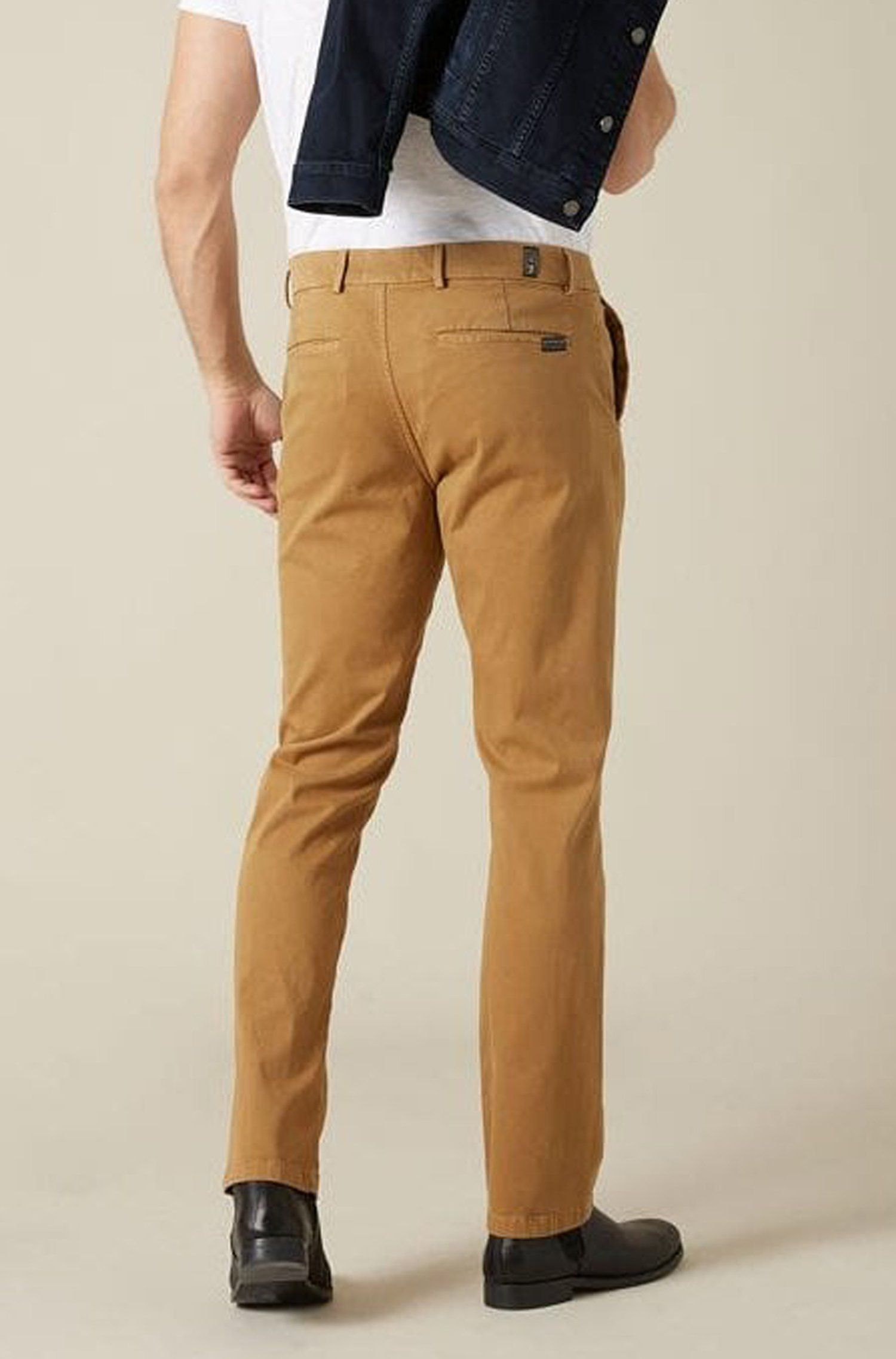 7 For All Mankind - Beige Slimmy Chinos in Luxe Perf Sateen Fabric JSU9T490SA 30