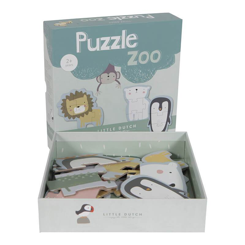 Animal Puzzle Zoo - The Little Dutch