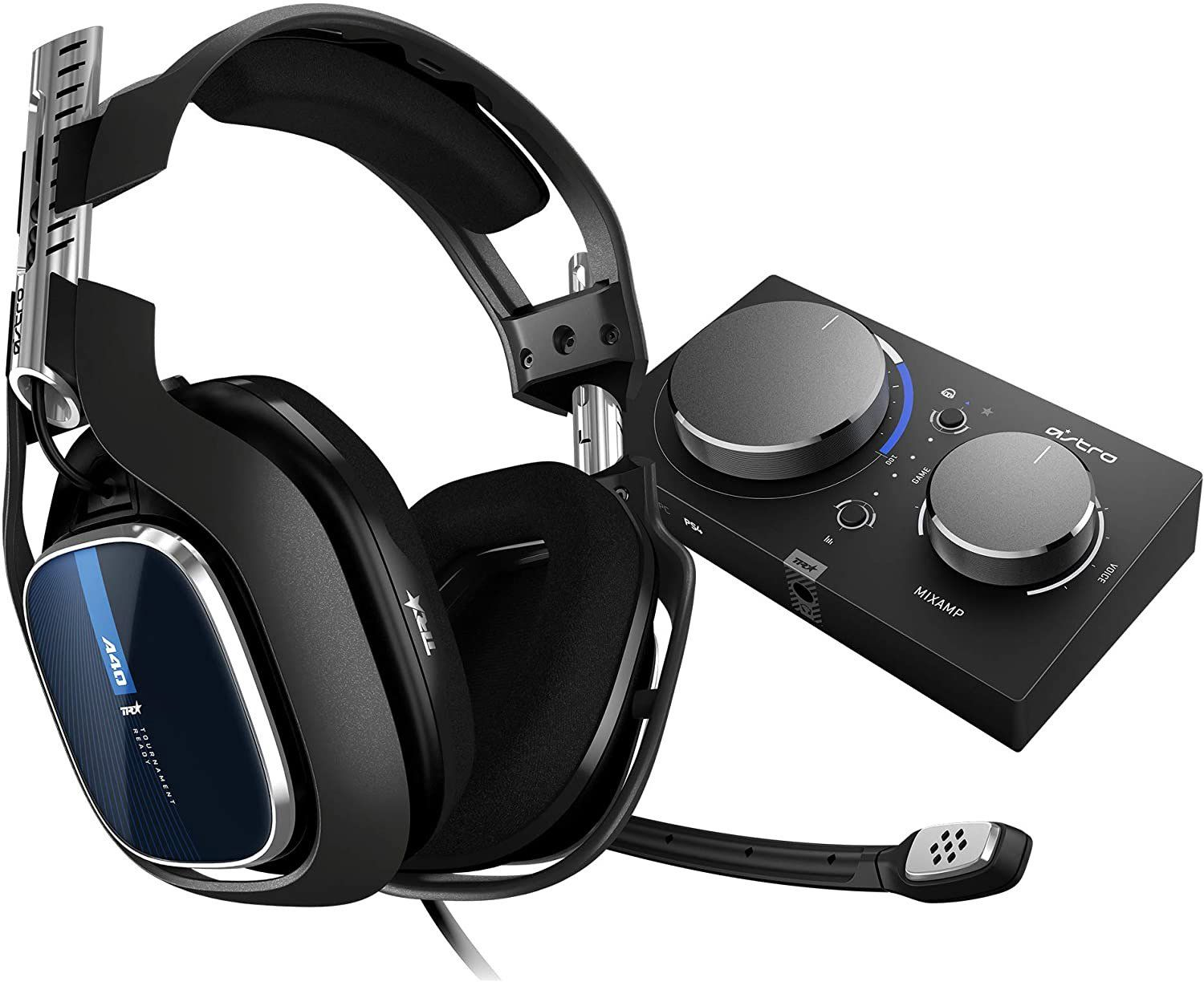 Astro A40 TR Headset & Gaming MixAmp Pro TR -PlayStation 4 / PC