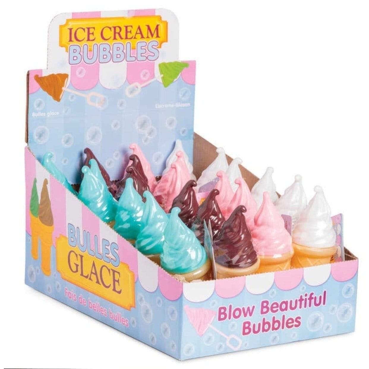 Bubbles in an Ice Cream Bottle Brown