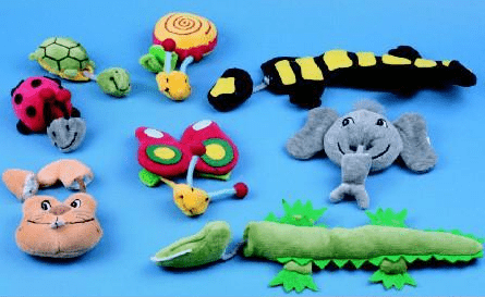 Funny Fingers Animal Puppets by Beleduc