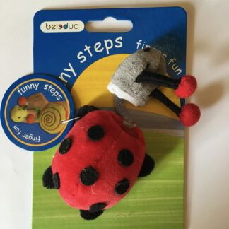 Funny Fingers Ladybird Puppet by Beleduc