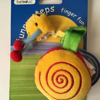 Funny Fingers Snail Puppet by Beleduc