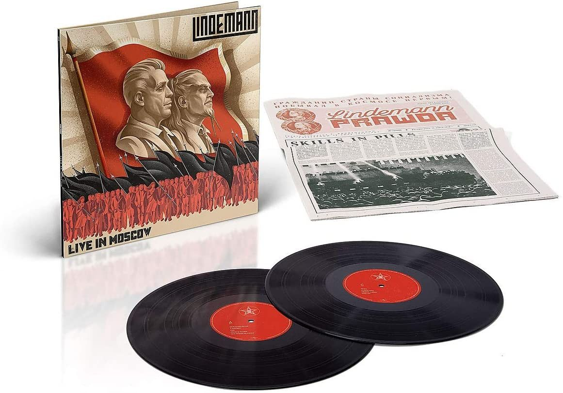 Lindemann - Live In Moscow Vinyl LP Released 21/05/21