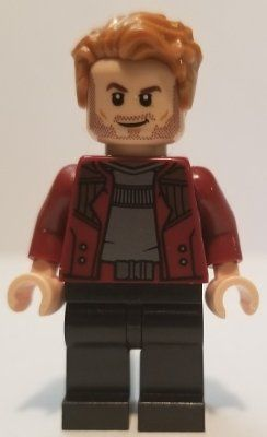 LEGO Marvel Super Heroes Star-Lord Minifigure from 76107
