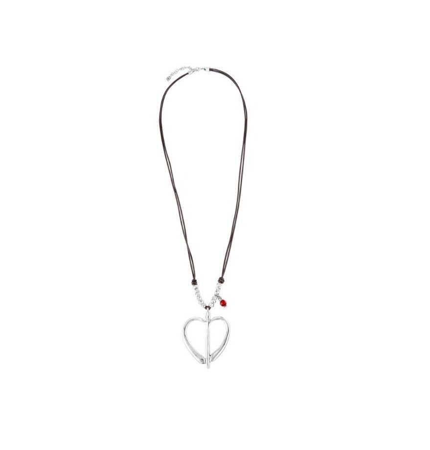 UNOde50 Free Hearts Necklace Silver
