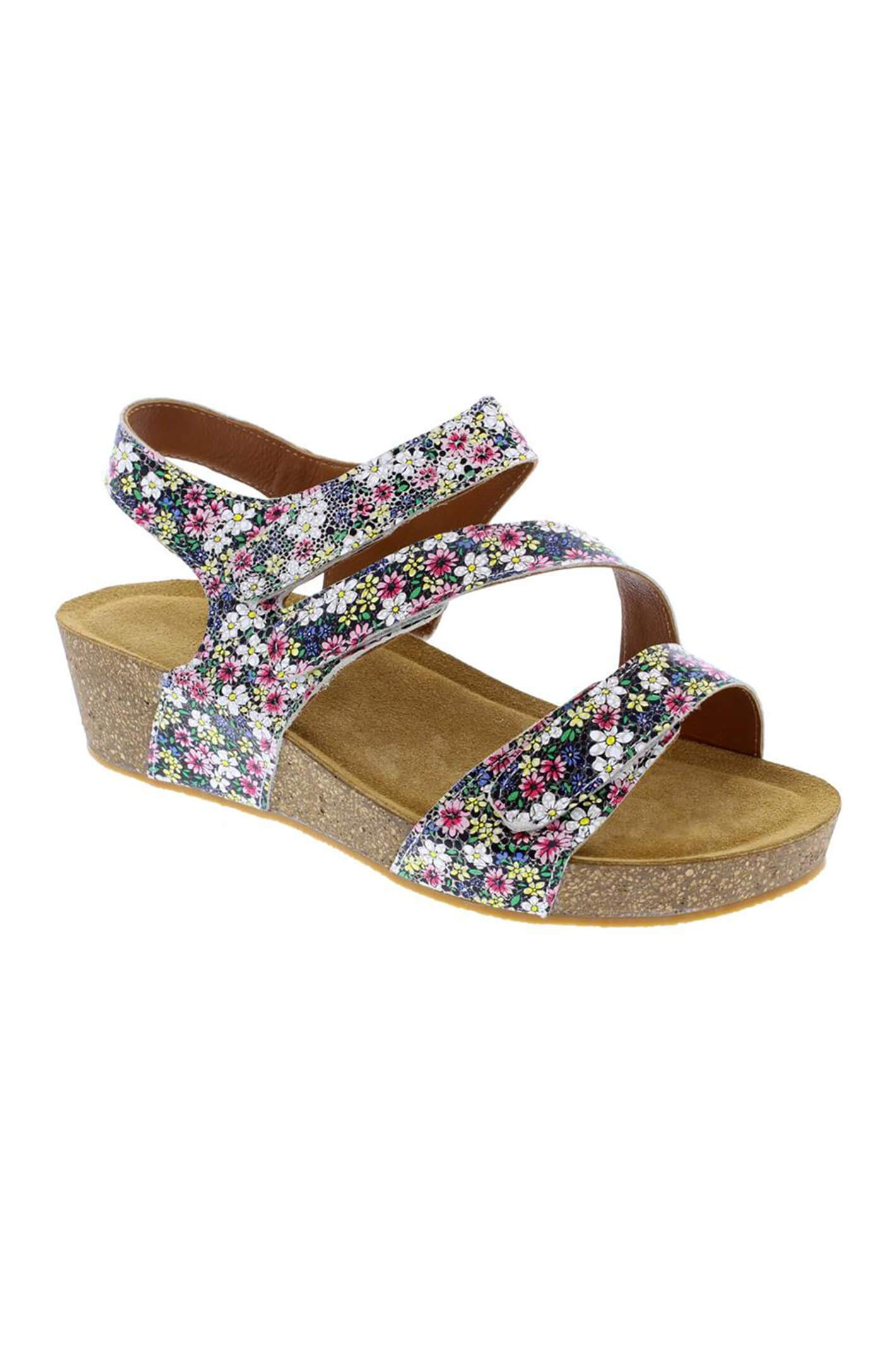 Adesso A6070 Jodie Floral Wedges 3