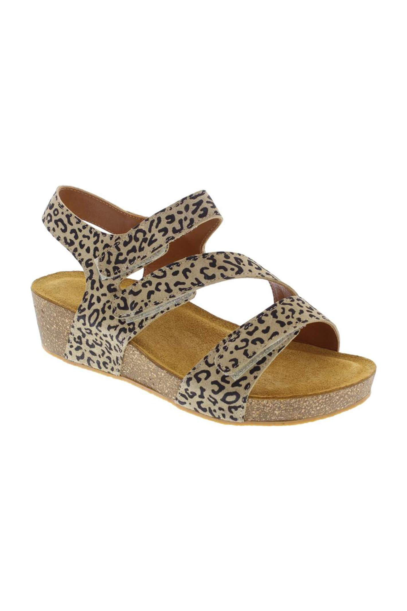Adesso A6071 Jodie Leopard Wedges 4