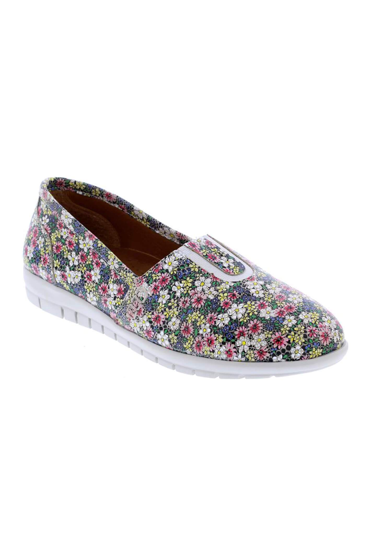 Adesso A6094 Rose Floral Leather Pumps 38 R