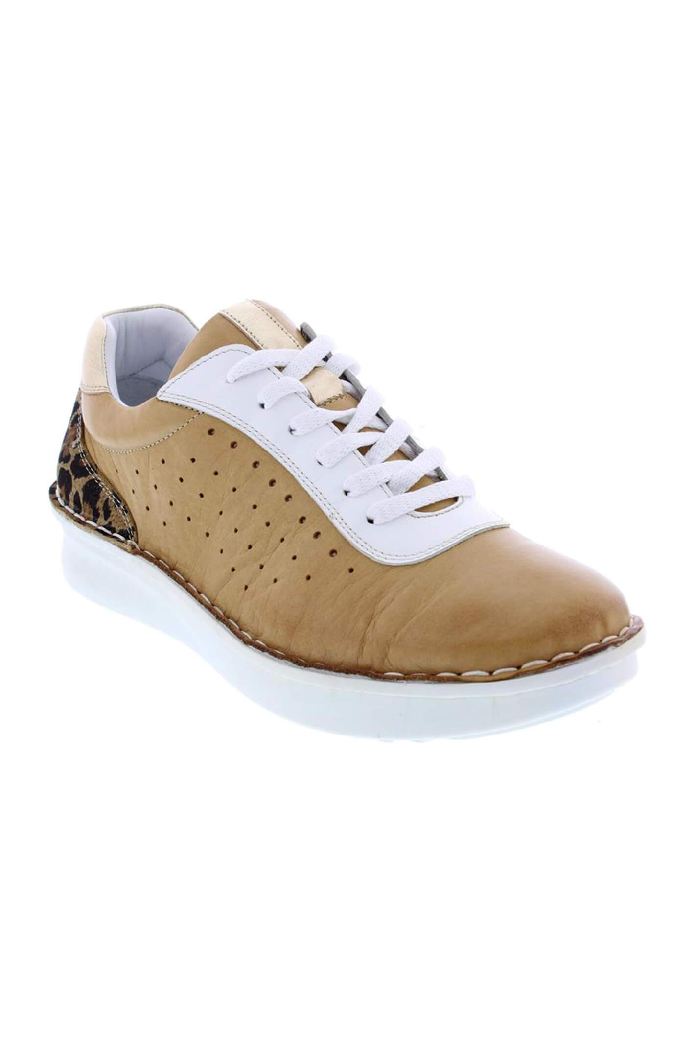 Adesso A6106 Emily Sandstone Leather Trainers 38 R