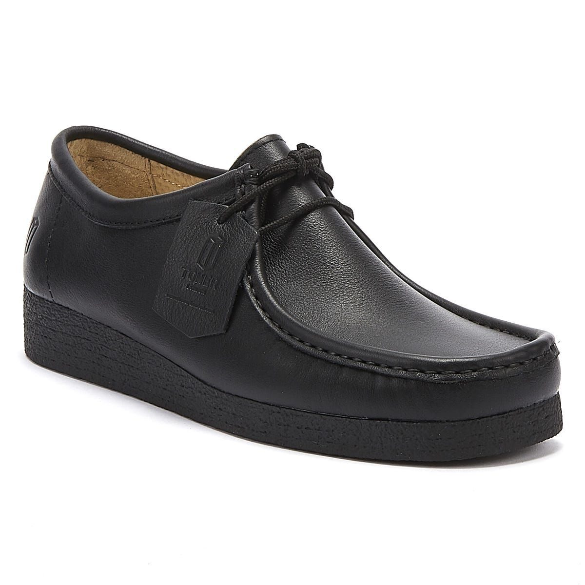 TOWER London Black Napa Leather Shoes