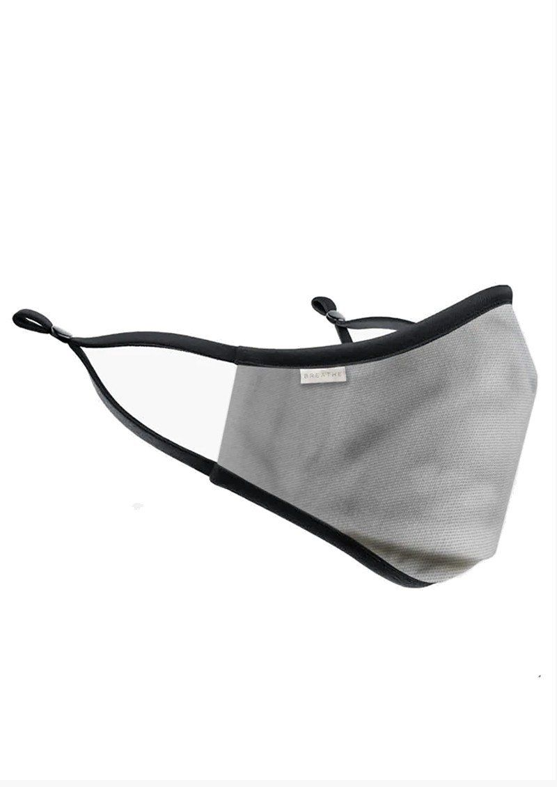 Breathe Adult Filter Face Mask in Grey