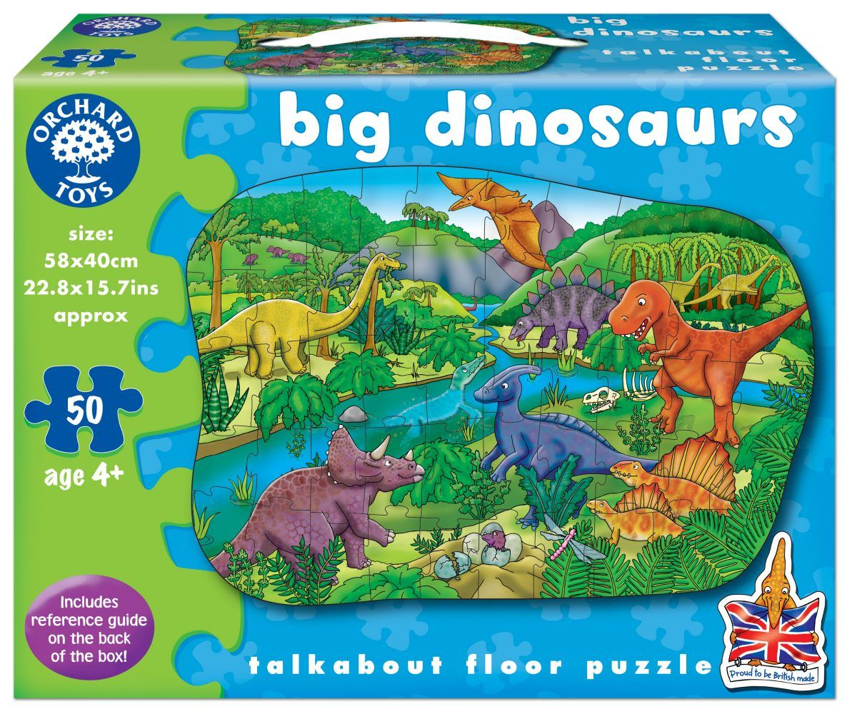 Big Dinosaurs by Orchard Toys