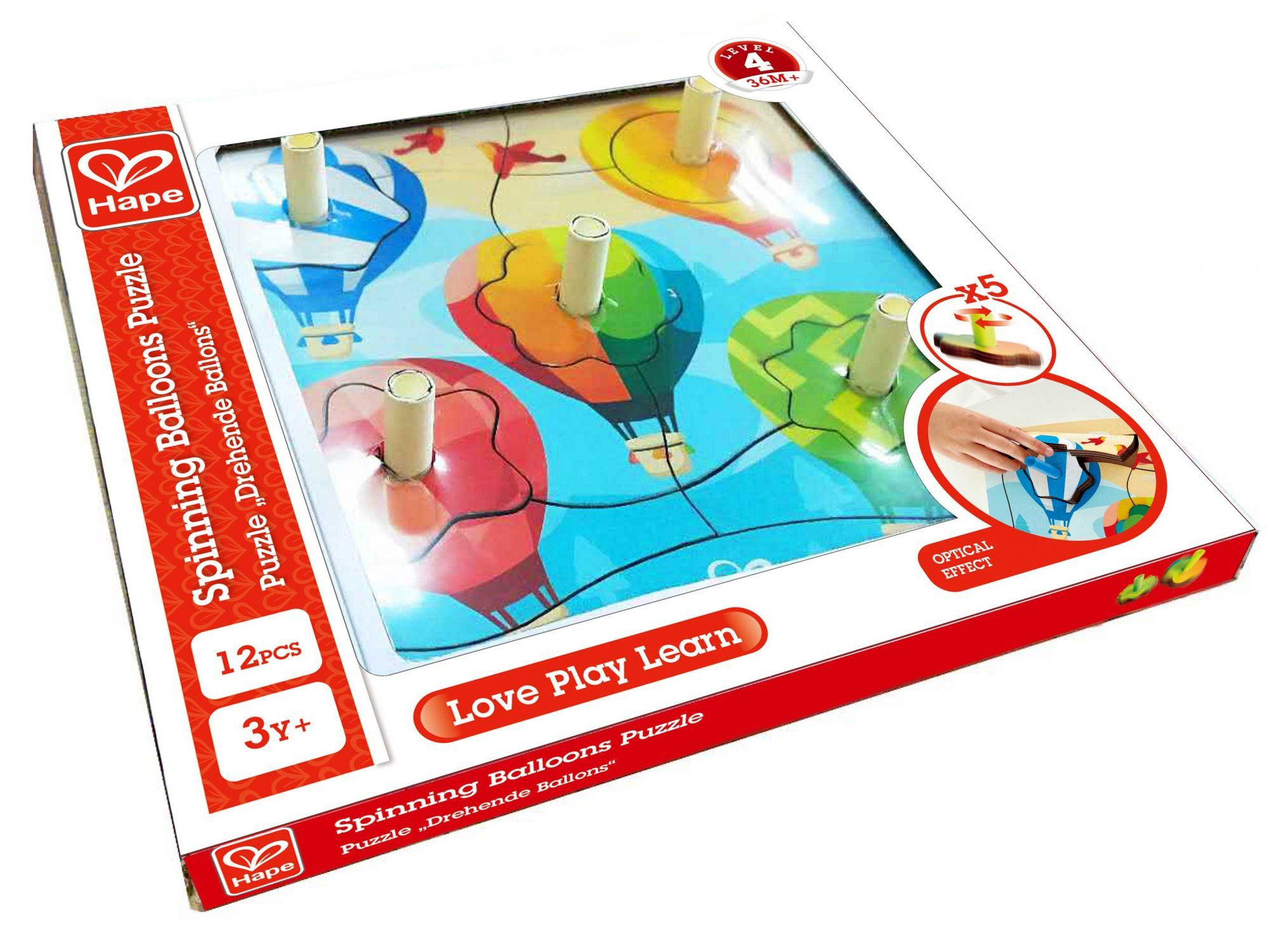 Spinning Balloons Puzzle by Hape