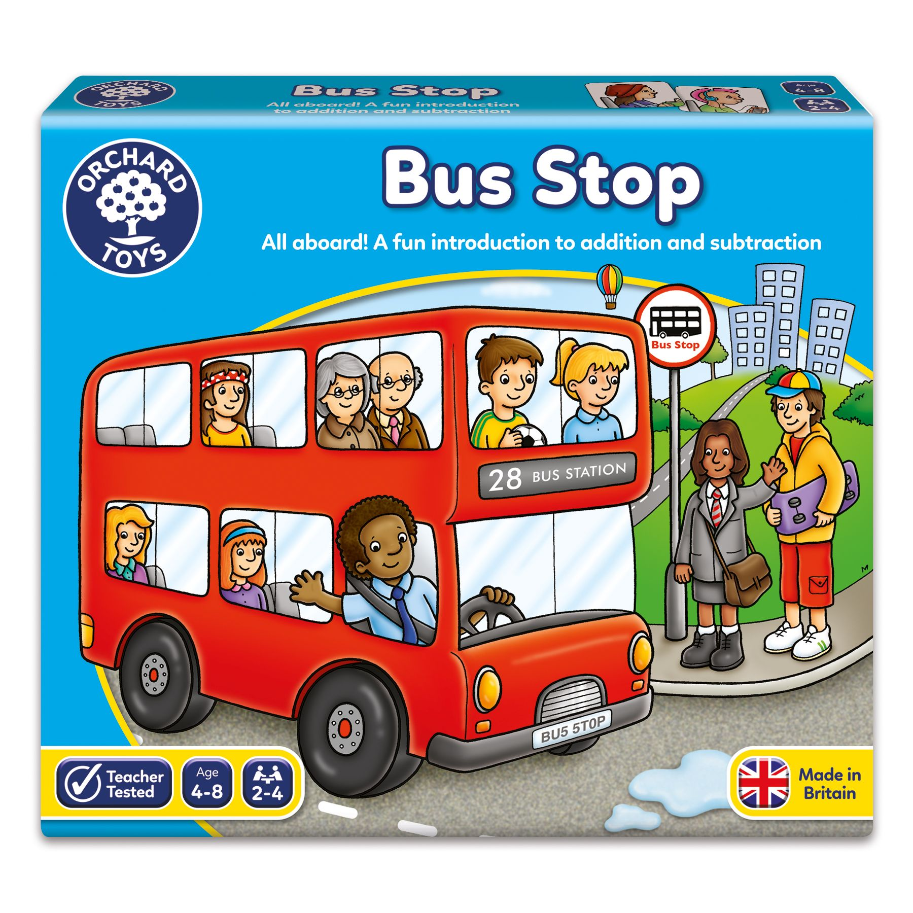Bus Stop by Orchard Toys