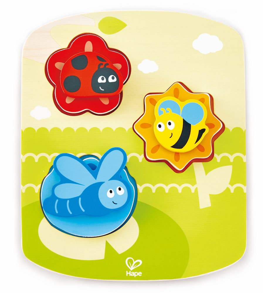 Dynamic Insect Puzzle E1609 by Hape