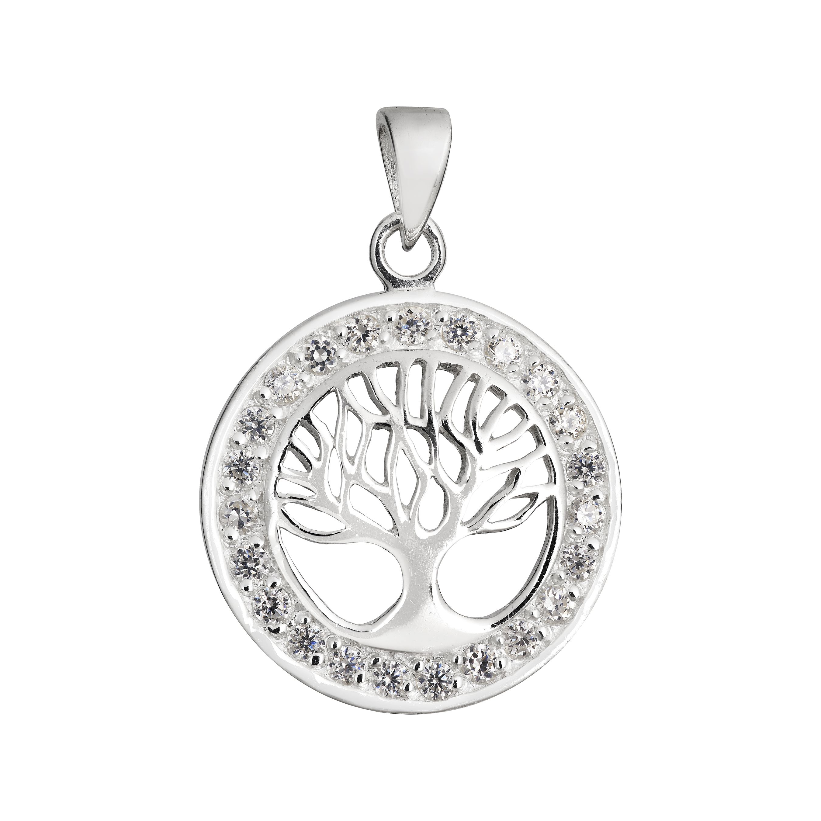 Absolutely Stunning Crystal Tree of Life Pendant