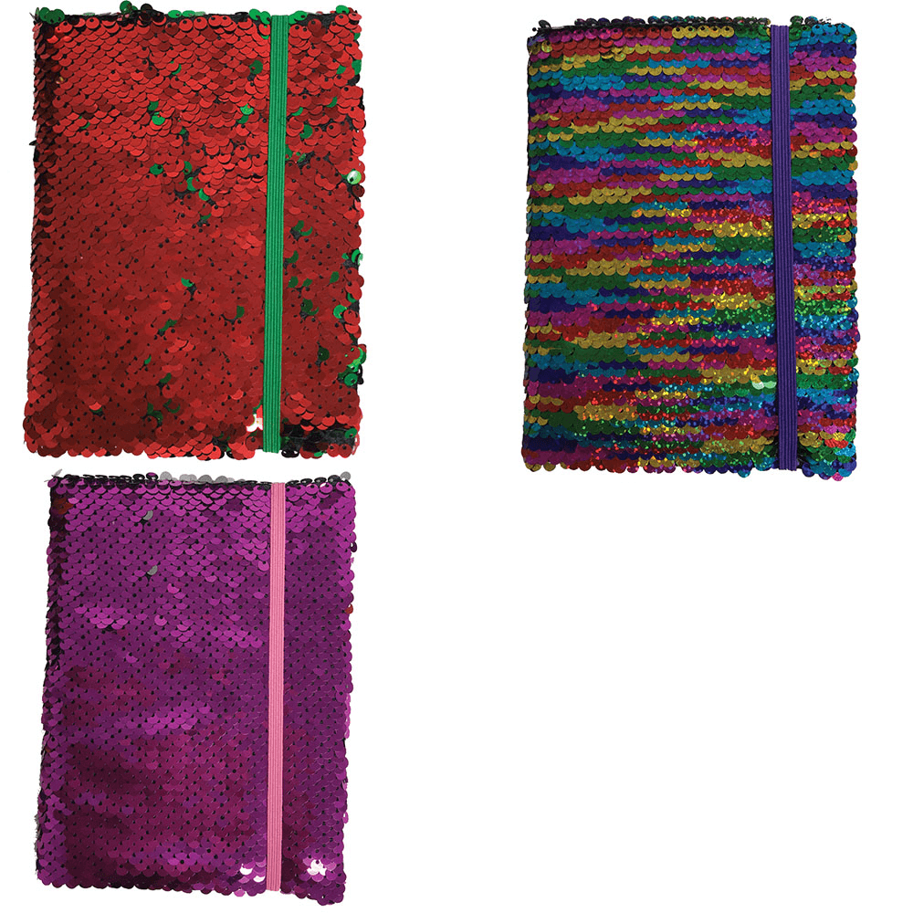 Sequin Sparkle Notebook by Ashwood
