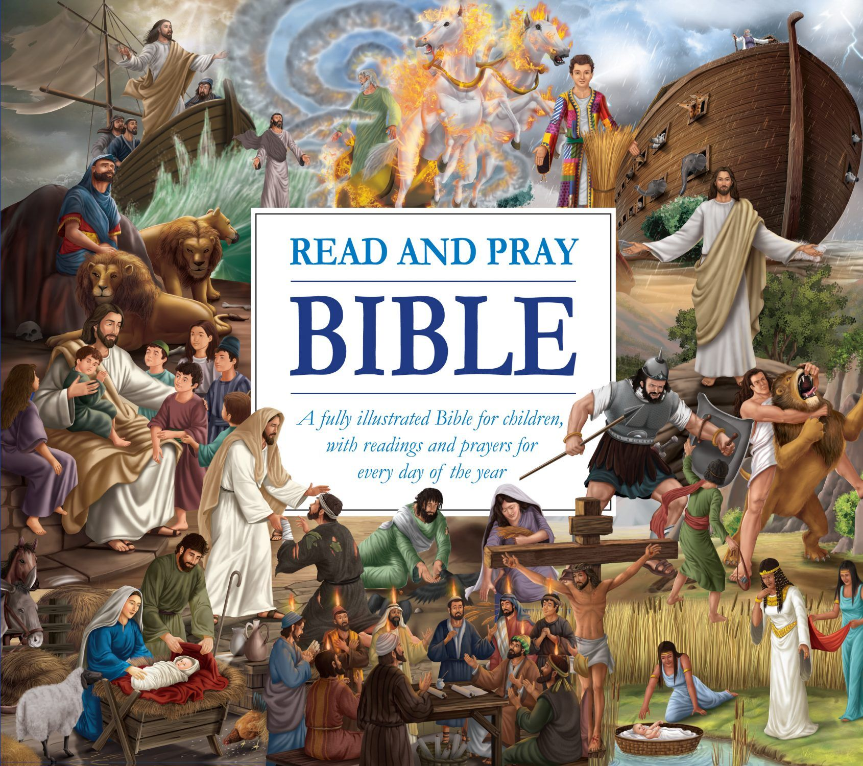 Read and Pray Bible by North Parade
