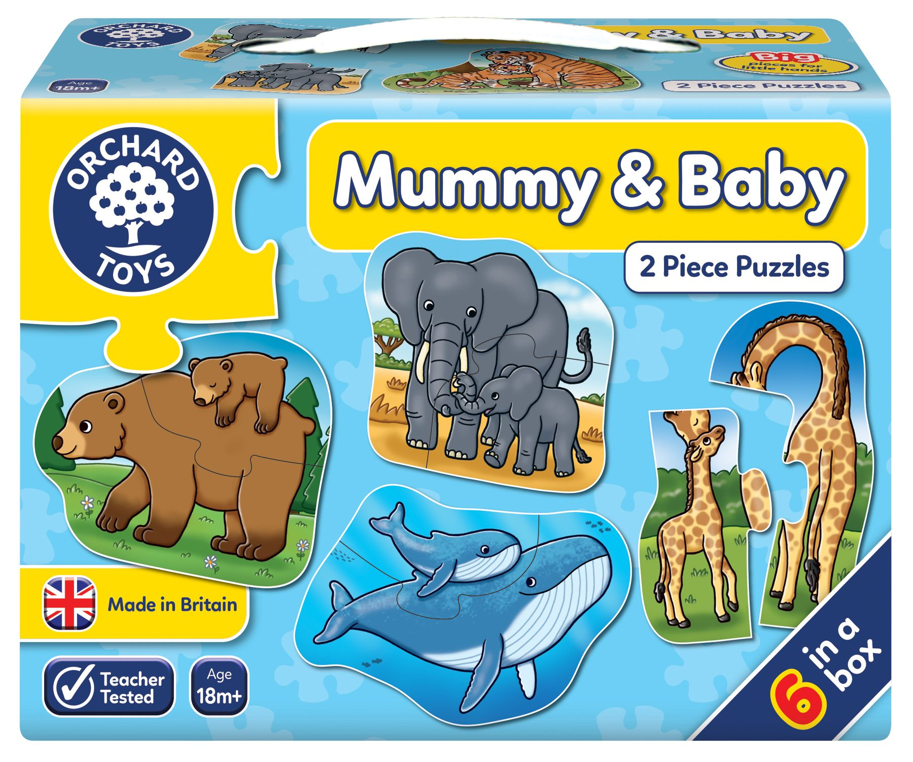 Mummy and Baby by Orchard Toys