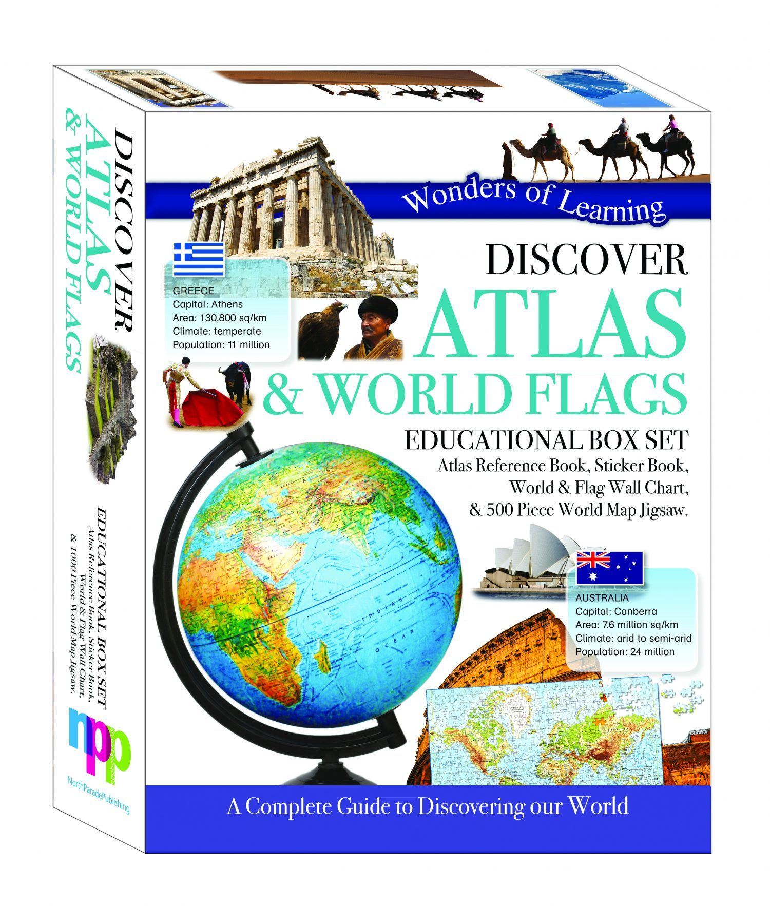 Discover Atlas and World Flags by North Parade
