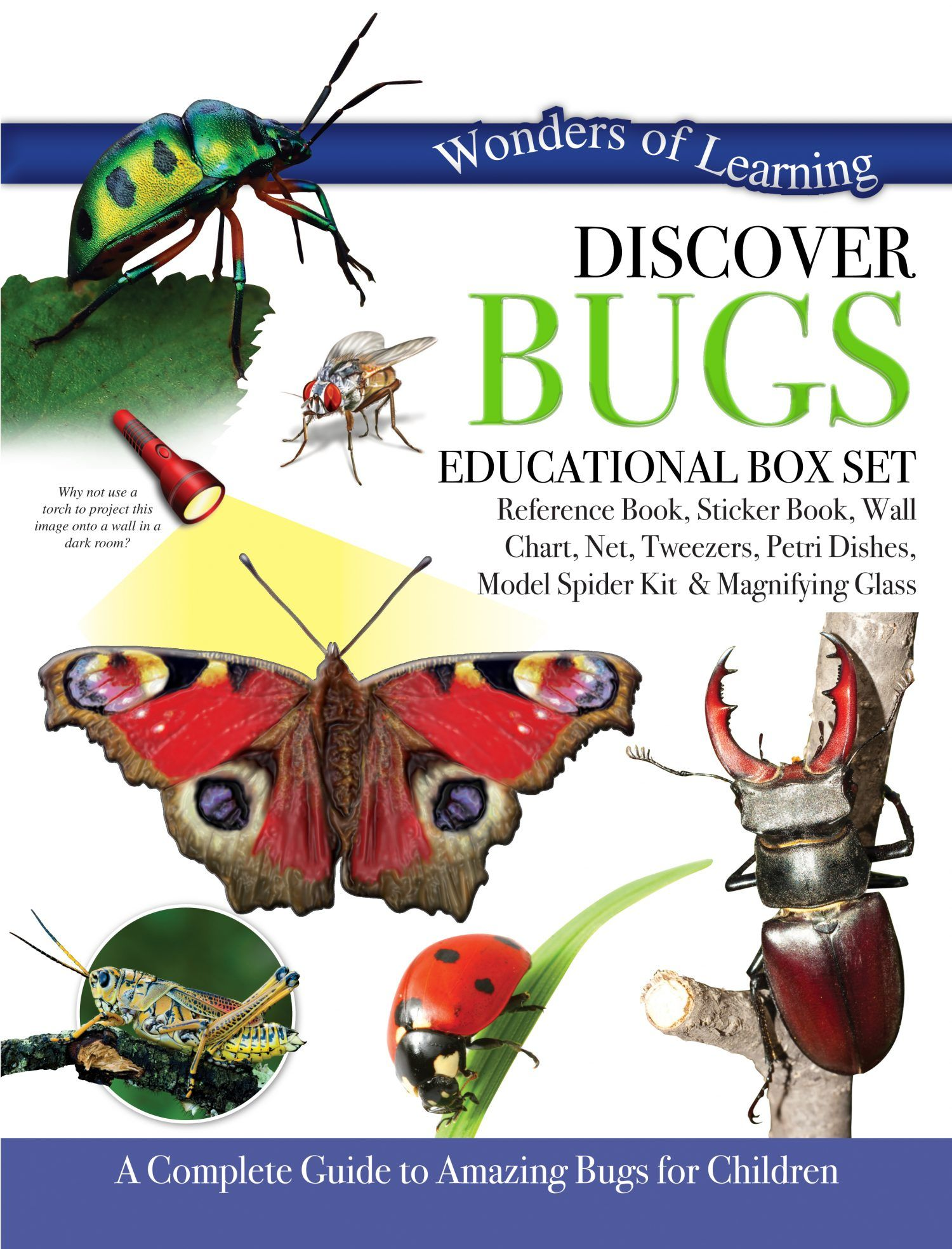 Discover Bugs Box Set by North Parade