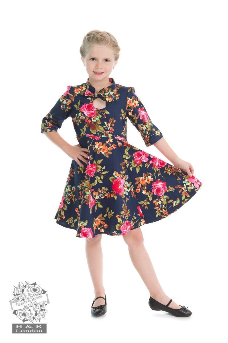 H&R Children's Autumn Retro Dress 9-10 Years