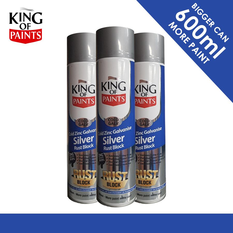 Cold Galv & Rust Block : Protect your Metals King of Paints