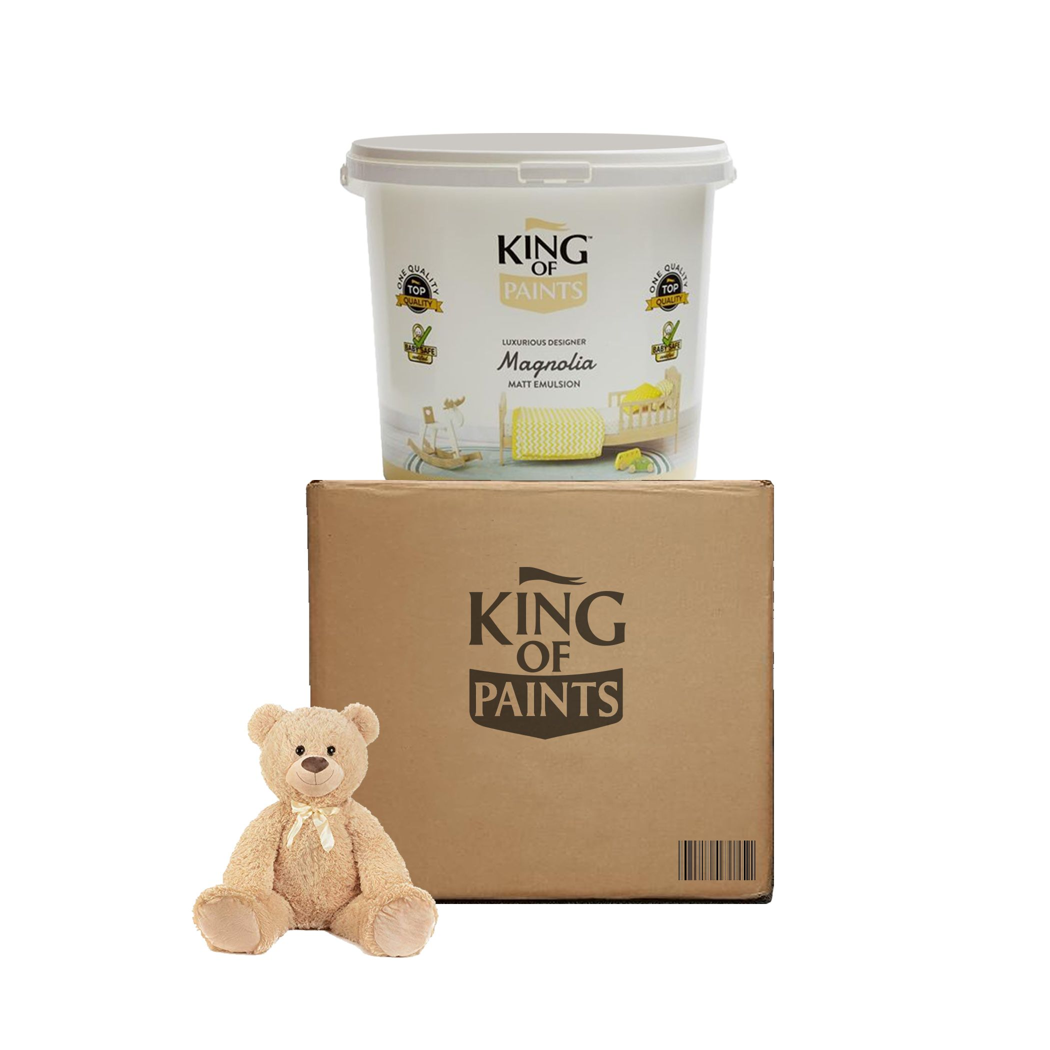 emulsion wall and ceiling Paint & Baby Safe Paint, Non-Toxic, Eco-Friendly and Washable for Your B..