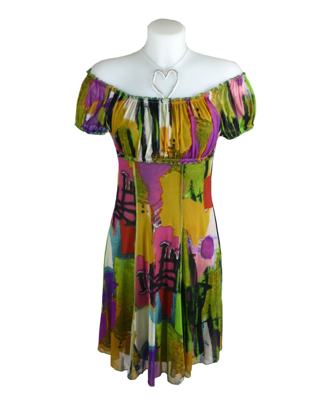LULU-H Green Gypsy Style Dress 10-12