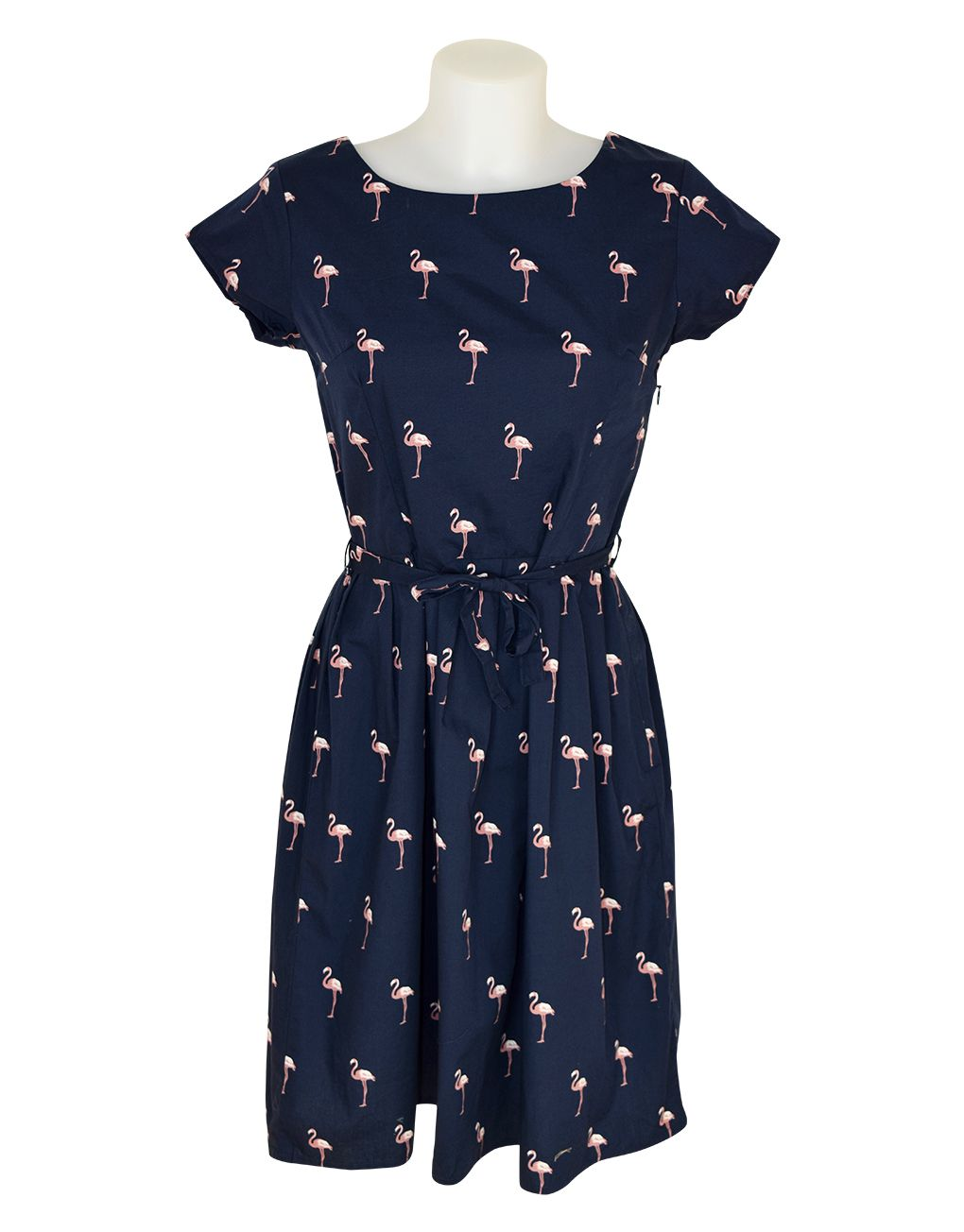 Run & Fly Retro Vintage Flamingo Dress 14