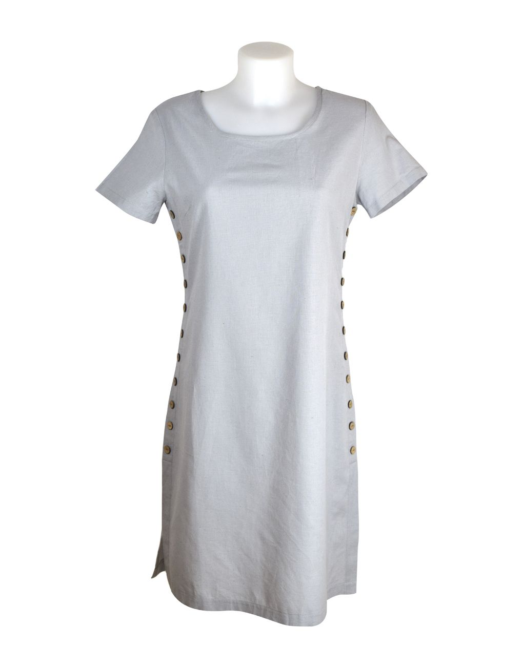Alice Collins Kylie Dress Cool Steel 16 XL