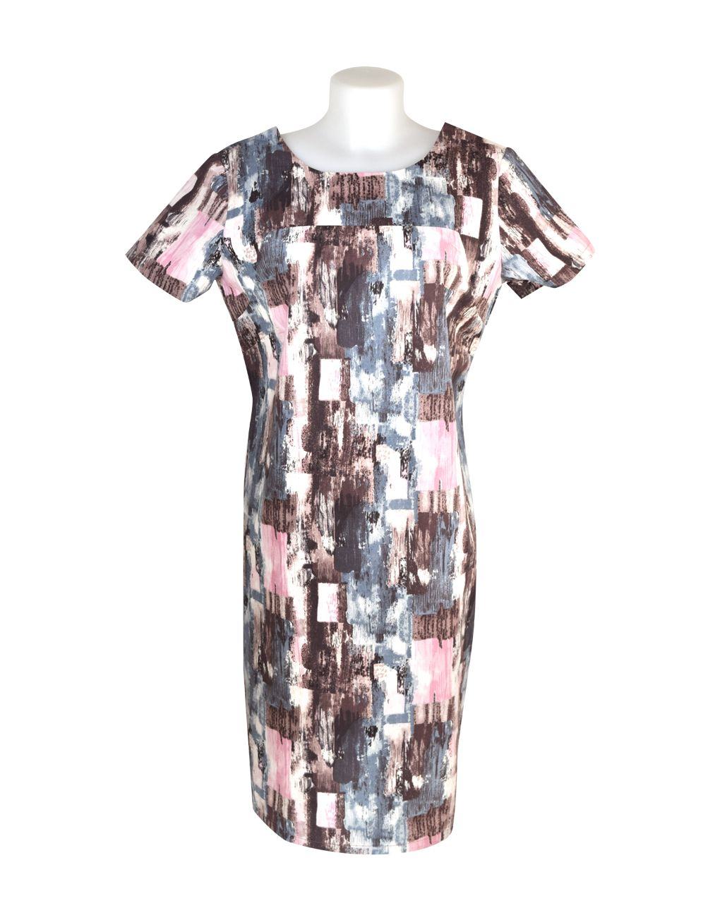 Alice Collins Maisie Dress Paint Blush 18 XXL