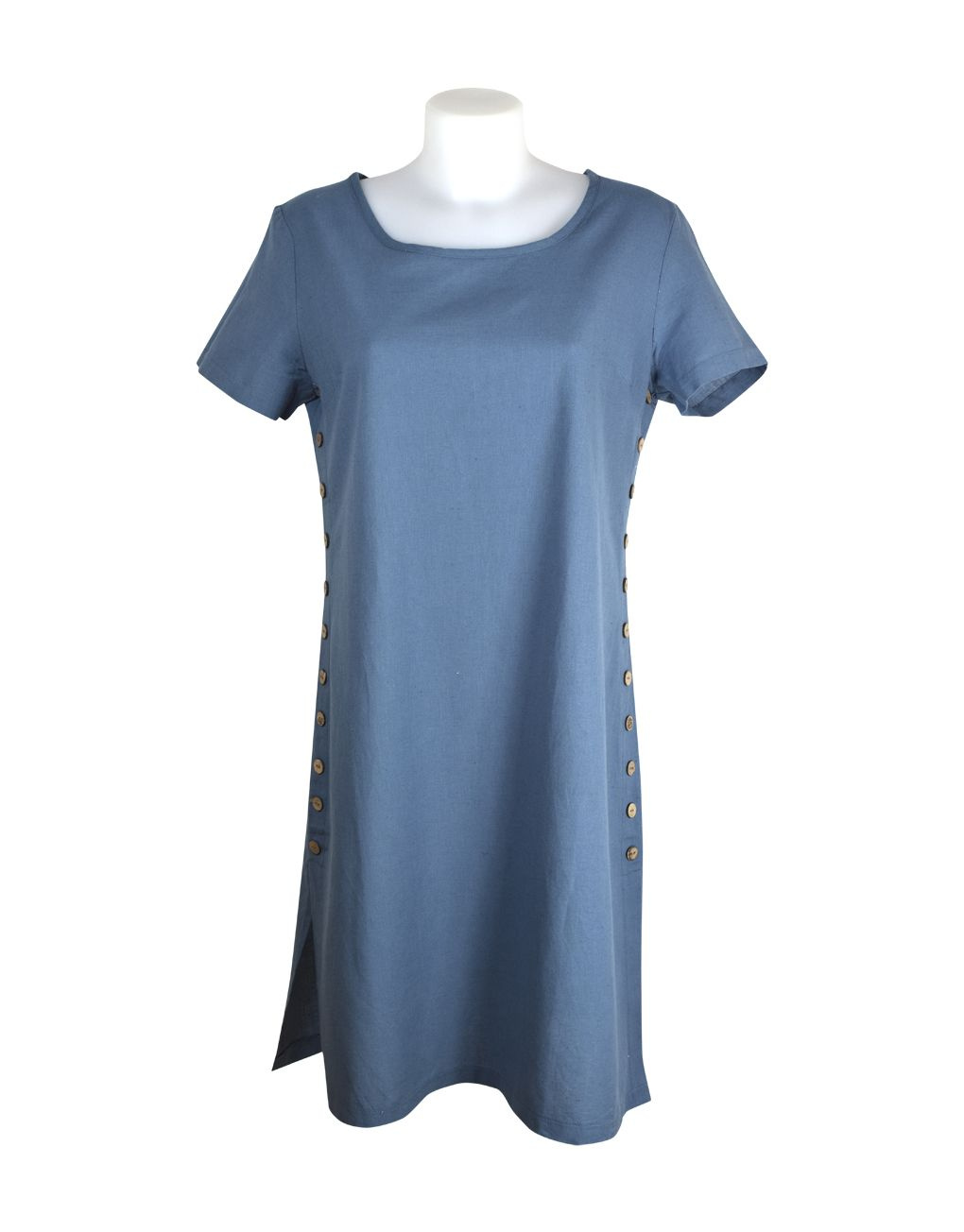 Alice Collins Kylie Dress Indigo Blue 12 M